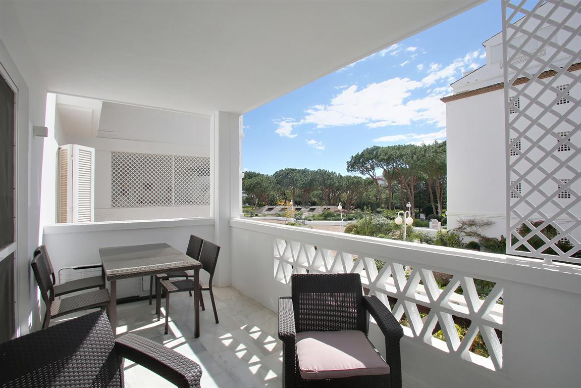 Renovated 3 bedrooms apartment in Playa del Duque, front beach line complex in the center of Puerto ,Spain