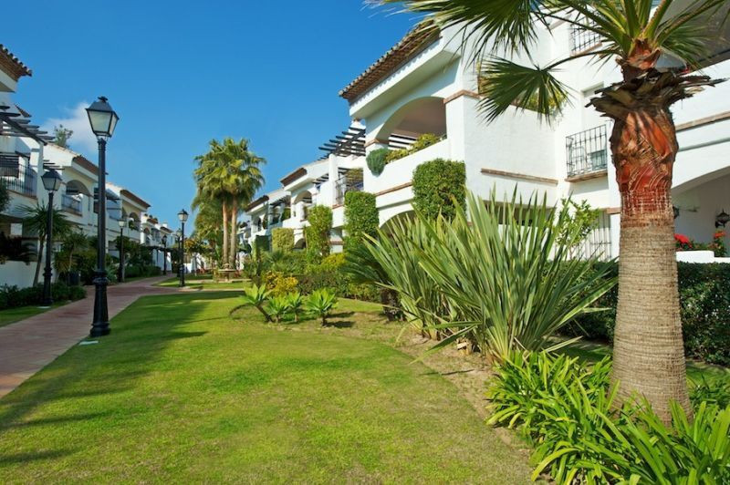 Front line beach complex in San Pedro Alcantara, a very cosy small gated community with  only 11 blo,Spain