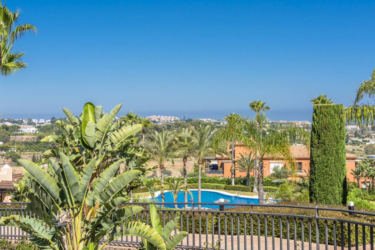 Luxury apartment with a very large terrace and lovely sea views. The apartment is located on a raise, Spain