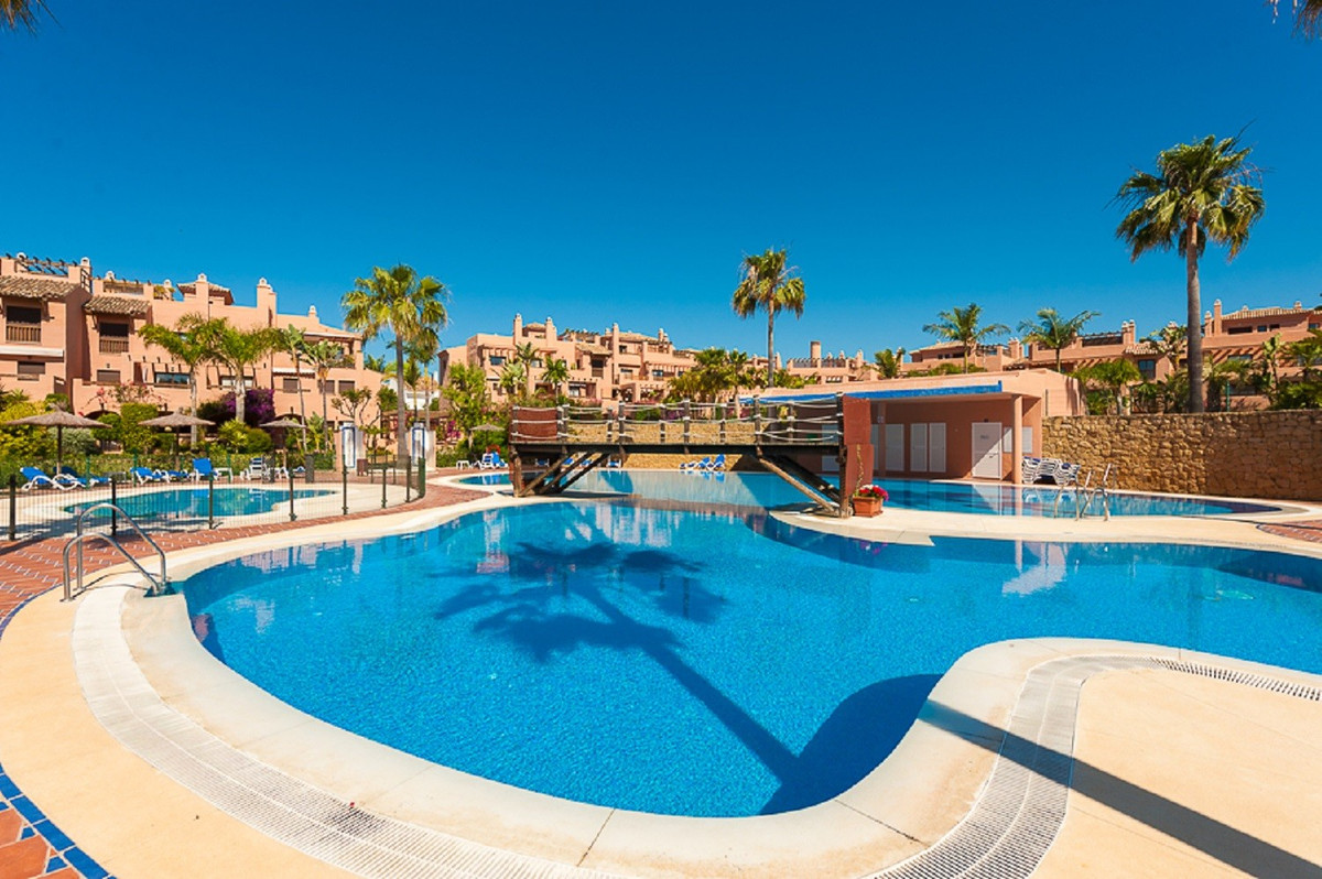 The perfect holiday apartment! Southwest facing ground floor apartment with easy access to one of 5 ,Spain