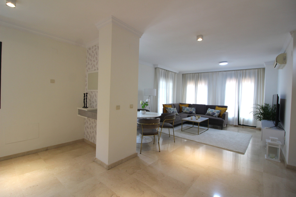 THE PROPERTY  Nice duplex penthouse available for sale in the Atalaya area. The property consists of, Spain