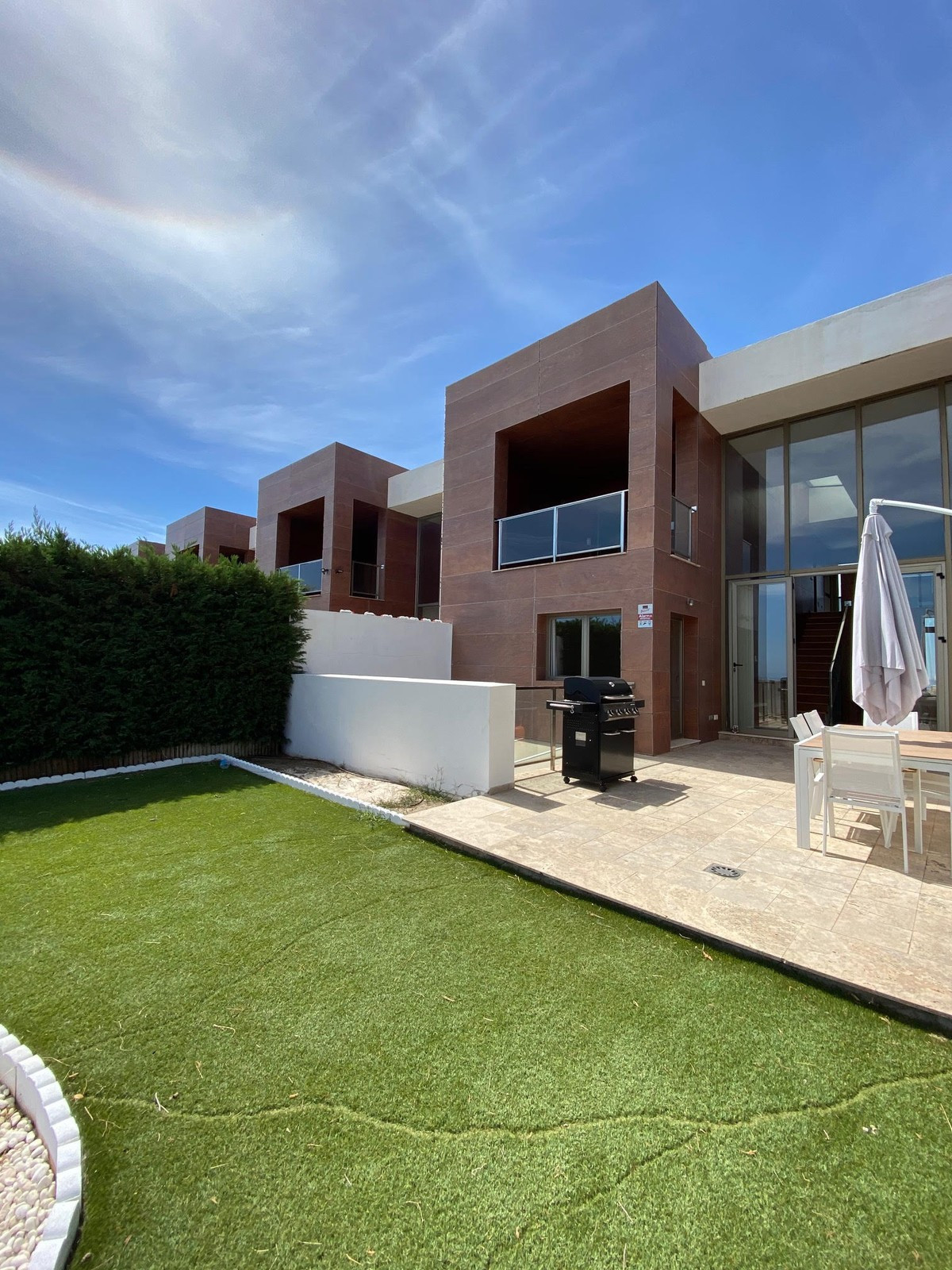 Modern townhouse with great views for rent in Benahavis, Marbella. Modern architecture inside and ou, Spain