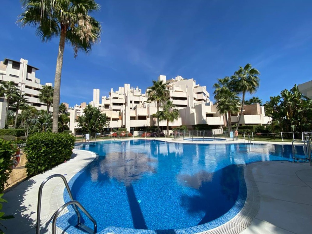 Luxurious apartment in first line of the beach of the New Golden Mile. The modern design apartment h,Spain