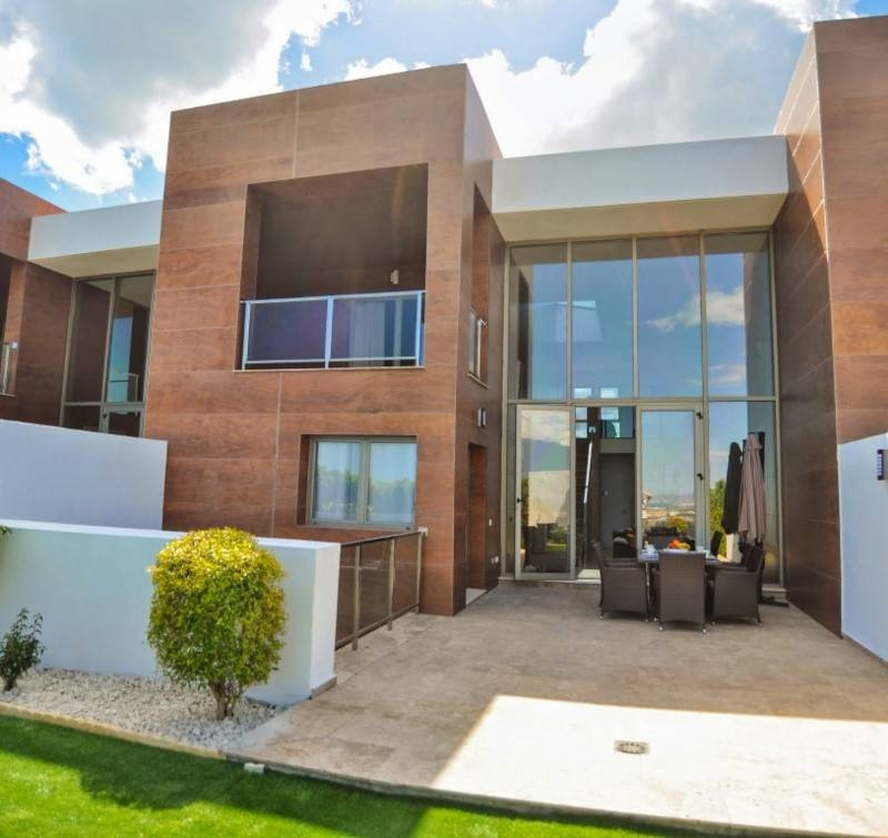 Modern townhouse with great views for rent in Benahavis, Marbella. Modern architecture inside and ou,Spain