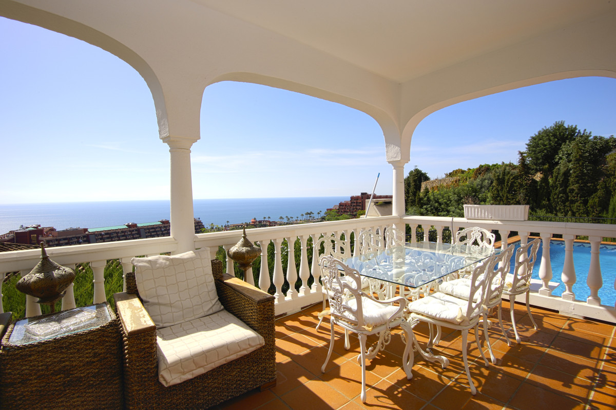 Imagine having breakfast on this beautiful terrace overlooking the sea and enjoying absolute peace. ,Spain