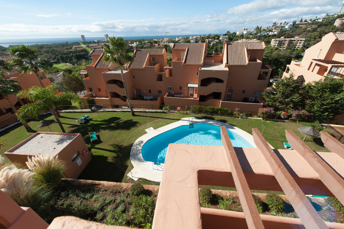 Lovely 2 bedroom 2 bathroom Duplex Penthouse with fantastic panoramic sea views over the Golf course,Spain