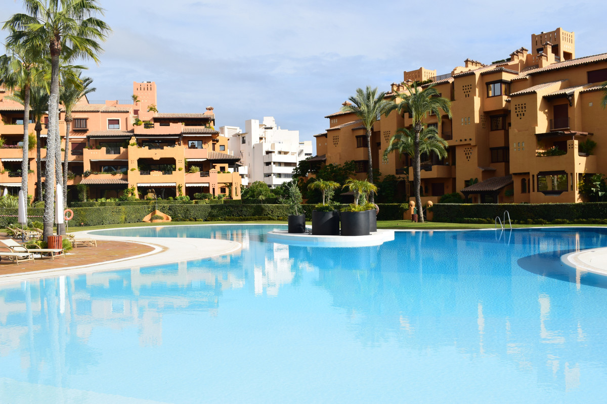 FIRST LINE BEACH LUXURY PROPERTY WITH SEA VIEWS NEXT TO ESTEPONA.  Luxurious property, located in on,Spain