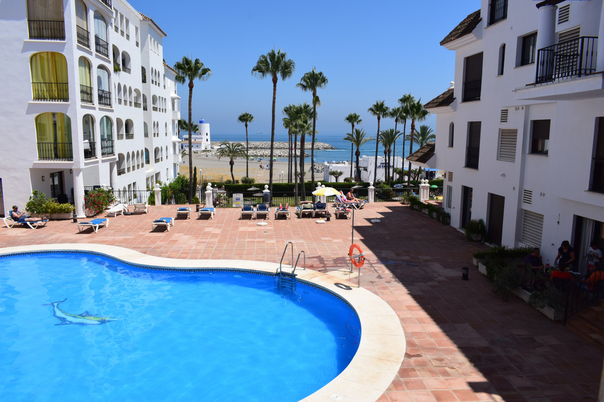 MARINA REAL PUERTO DE LA DUQUESA.  Two bedroom duplex apartment for sale in Marina Real Two bathroom, Spain