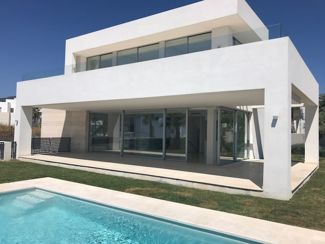 Brand new modern villa for sale in Rio Real Marbella This successful project of villas is located in,Spain
