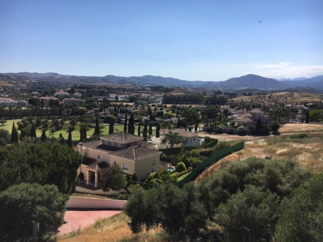 Urban plot without building in Mijas Golf, with spectacular and panoramic golf and mountain views.La,Spain