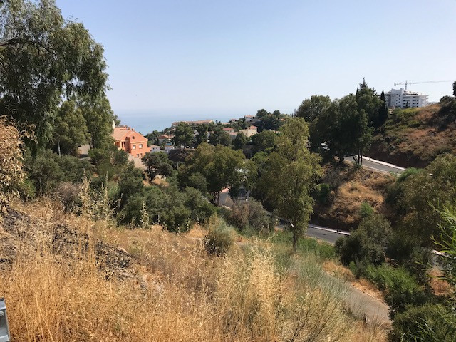 Piece of land 3200scm with panoramic sea view for sale in Torreblanca Fuengirola.  The project inclu,Spain