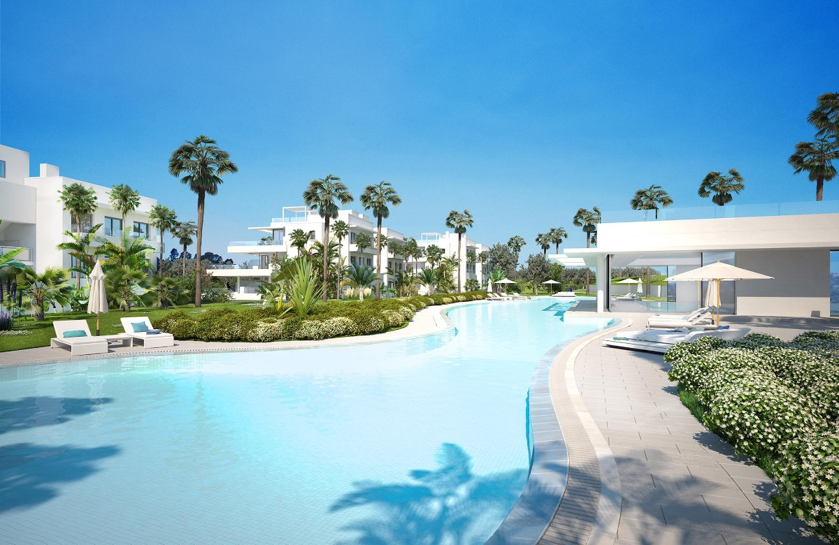Fantastic resale apartment with 3 bedrooms and 2 bathrooms recently built in a well known developmen,Spain