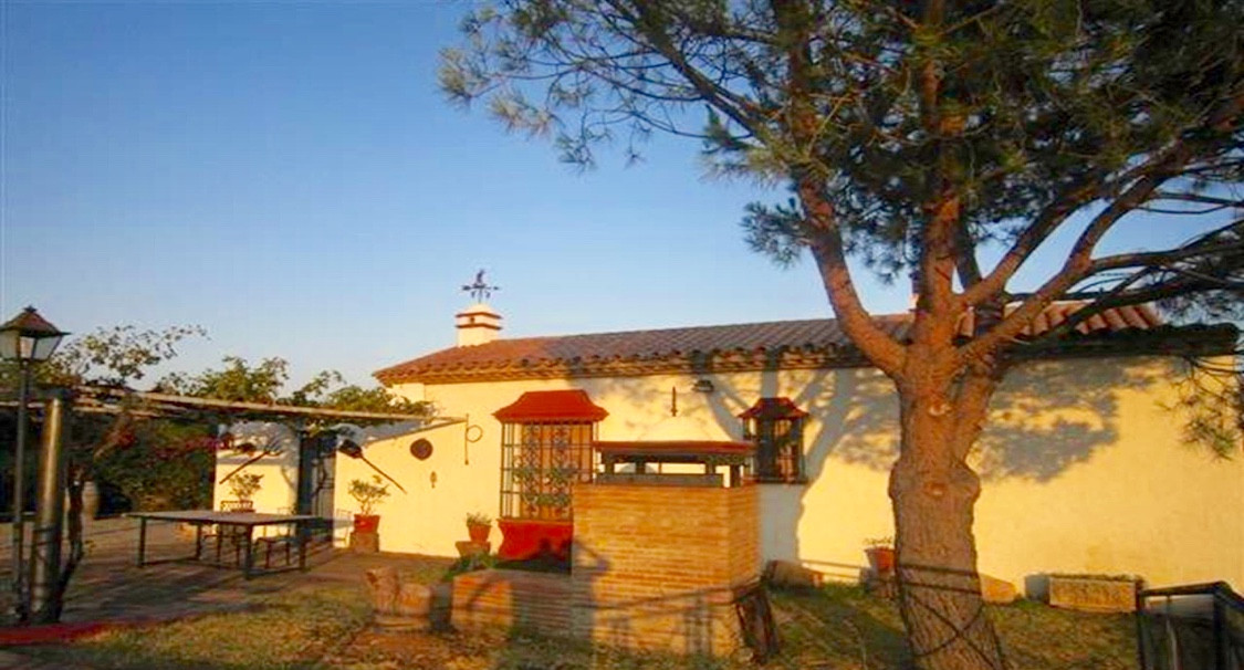 COUNTRY HOUSE WITH PANORAMIC VIEWS TO ESTEPONA, FOR SALE.  Traditionally country house built in 1998,Spain