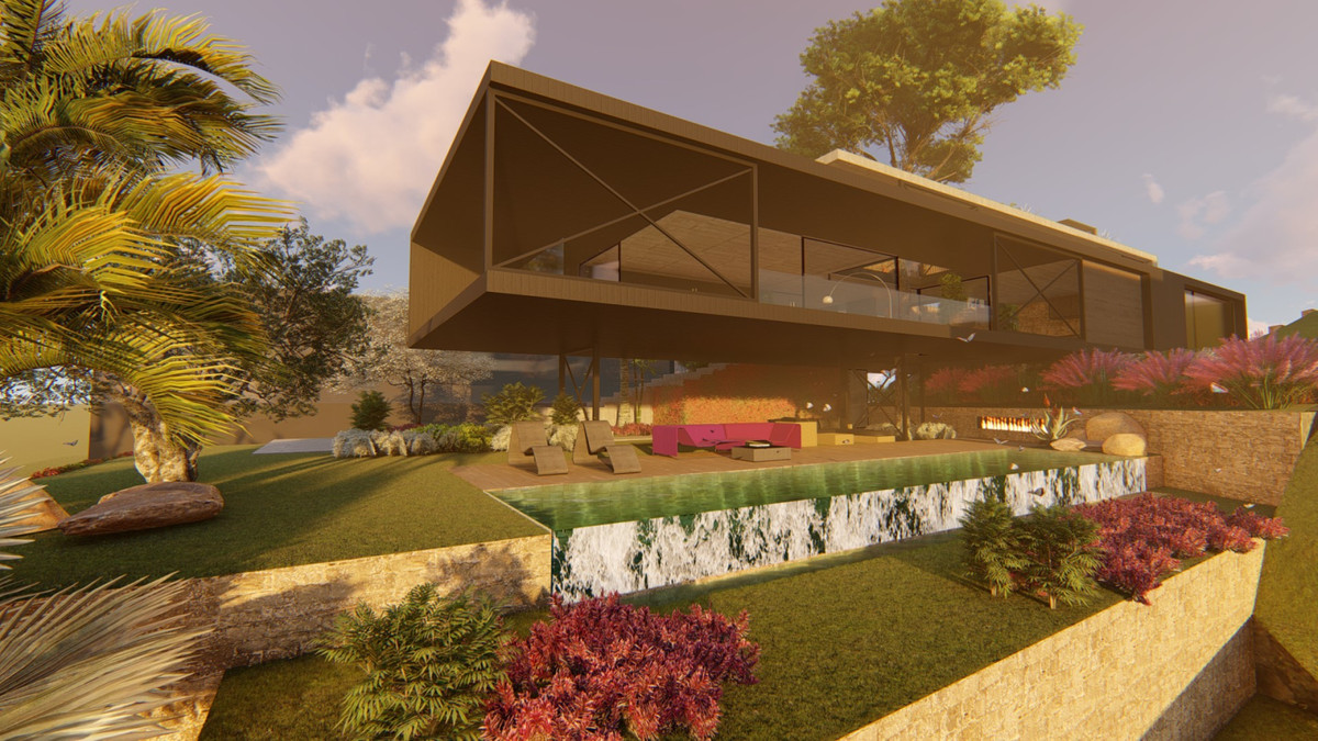 Beautiful and exclusive modern villa turnkey project. Highest build quality and ideal beachside loca, Spain