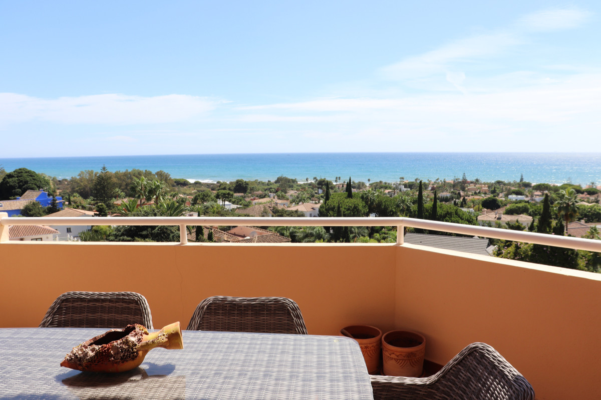 Beautiful duplex Penthouse with panoramic sea views located few minutes walking from the beach, idea,Spain