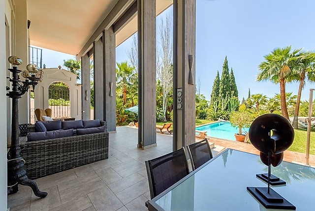 One of the most beautiful villas in the famous Marbella Hill Club. Continue magnificent view over th,Spain
