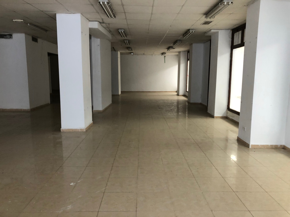 Large commercial premises in a busy street in central Marbella.    Ground floor premises with staff , Spain