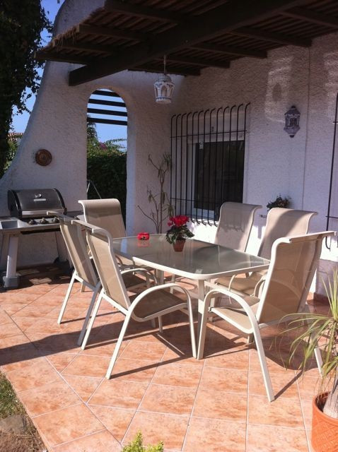 Private walled villa with mature garden located close to all amenities in the resort of Calahonda.  , Spain