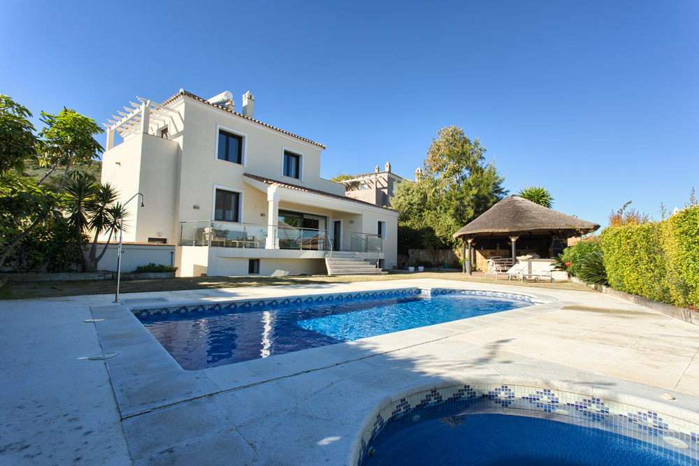 This gorgeously renovated villa near the beautiful beaches of La Duquesa is the perfect blend of con, Spain