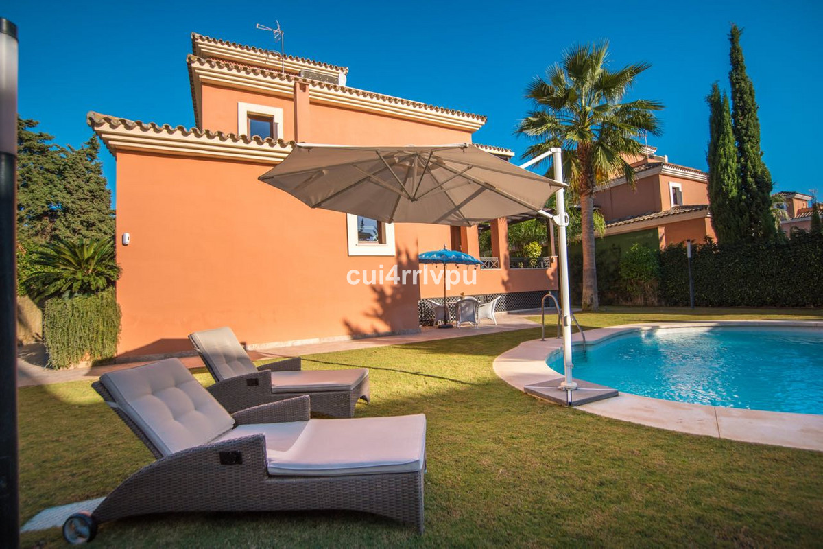 Located in La Reserva de Los Monteros, Marbella East, at just 350m walking distance from the beach, , Spain
