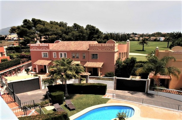 Frontline Golf. Perfectly maintained house with panoramic views over the Guadalmina golf course. In ,Spain