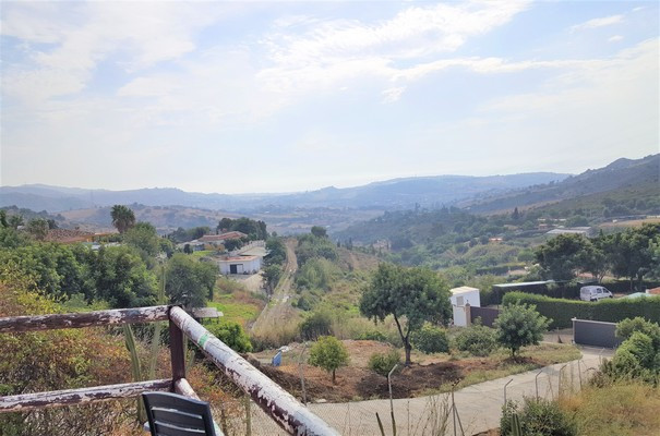 At the foot of the Sierra Bermeja located Finca with panoramic views over the sea and the well-known, Spain