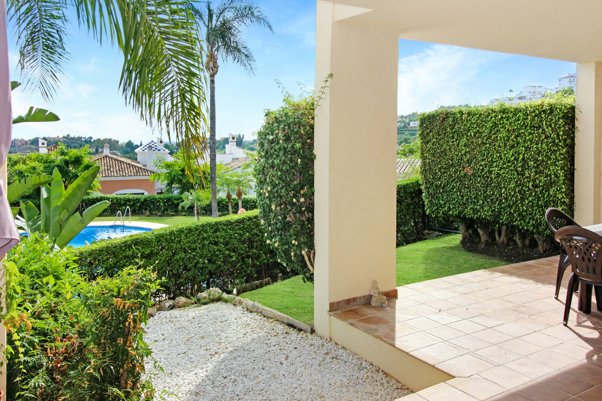 OPPORTUNITY. Best priced ground floor apt with SEA VIEWS, POOL VIEWS, SOUTH ORIENTATION & PRIVAT, Spain