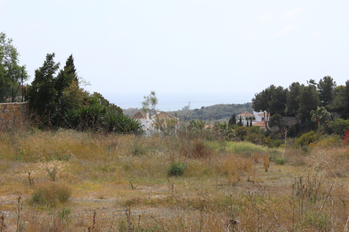 Splendid private plot of 5,700 m2 with sea and mountain views located in a cul-de-sac in the prestig, Spain