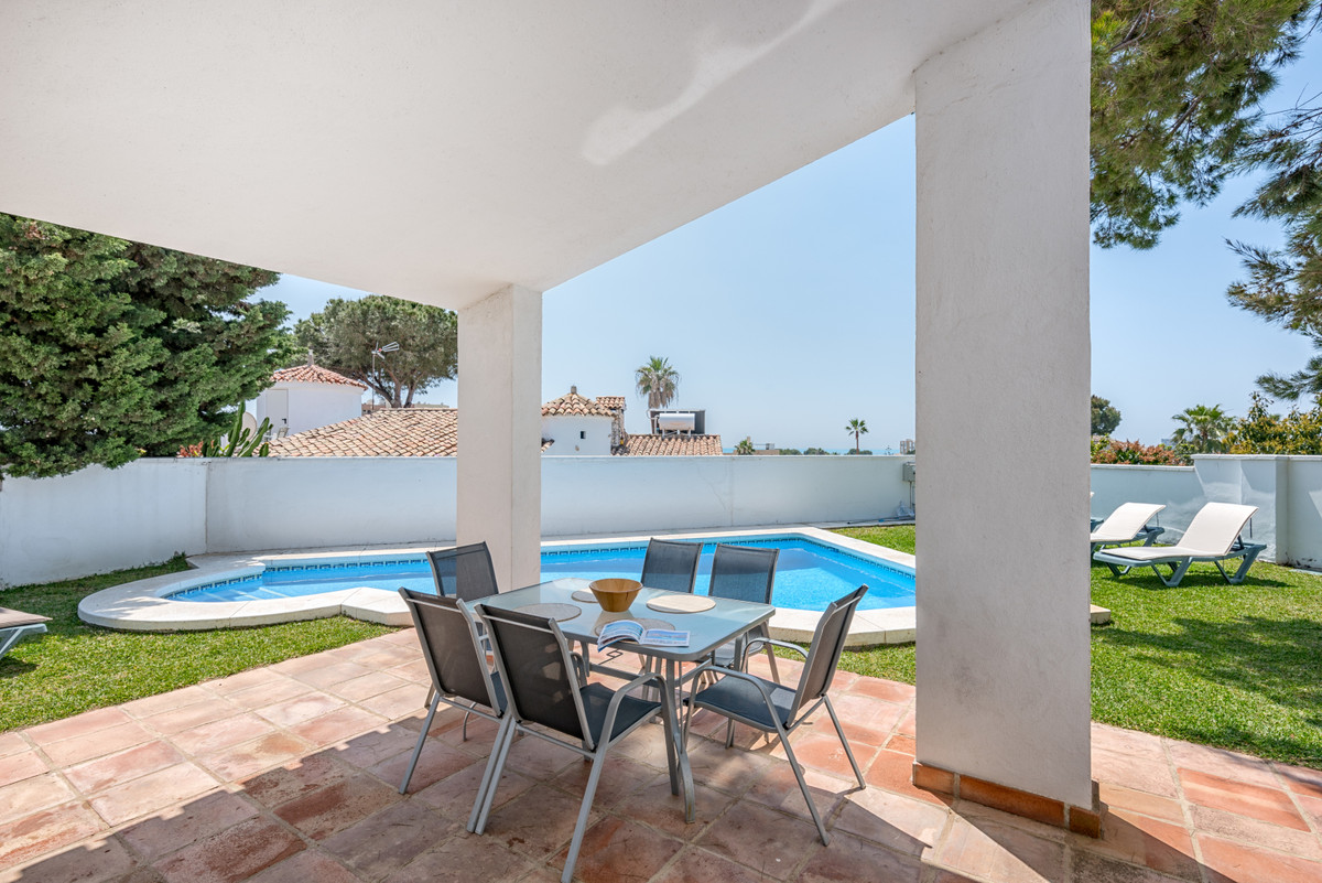 3 bedroom, 2 bathroom (both with showers only, no baths) villa with private pool. This three bedroom, Spain