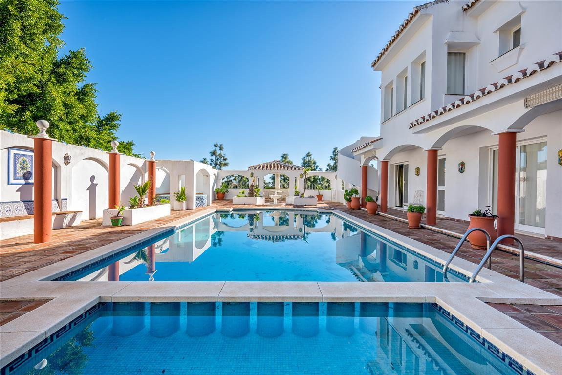 ***JUST REDUCED BY €30.000***  A very special, spacious and private detached villa situated in centr, Spain