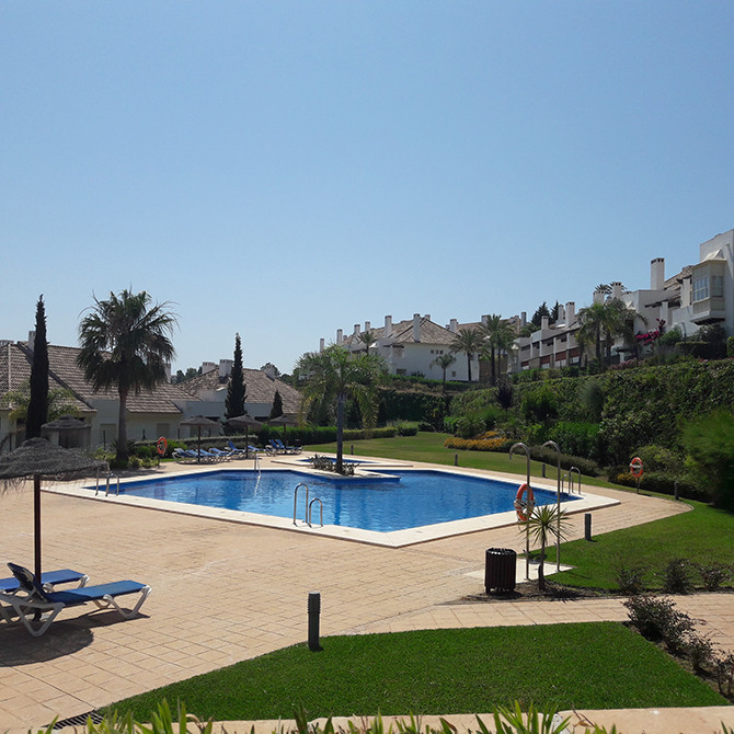 Located at the top of La Cala Golf complex with amazing views across to Mijas, this villa has many e, Spain