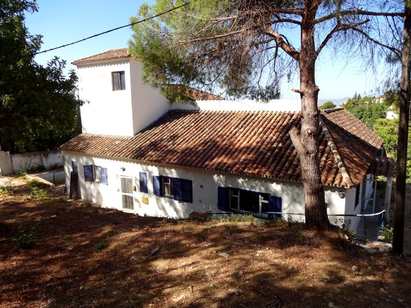 Urban land with a substantial Villa in need of renovation within walking distance of Mijas Pueblo.  , Spain