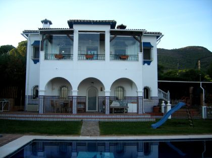 Lovely Villa in the quietest part of this prestigious urbanisation enjoying spectacular views over t, Spain