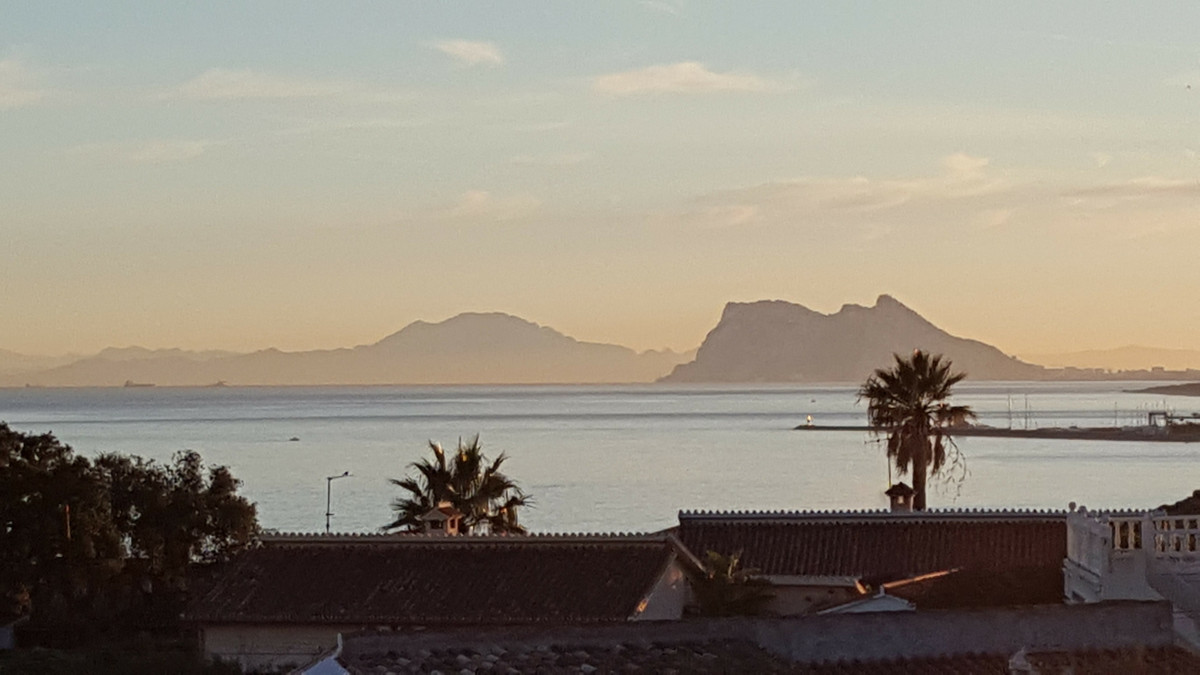 Flat plot for building a stand-a-lone villa with views to Gibraltar from an elevated position ideal , Spain