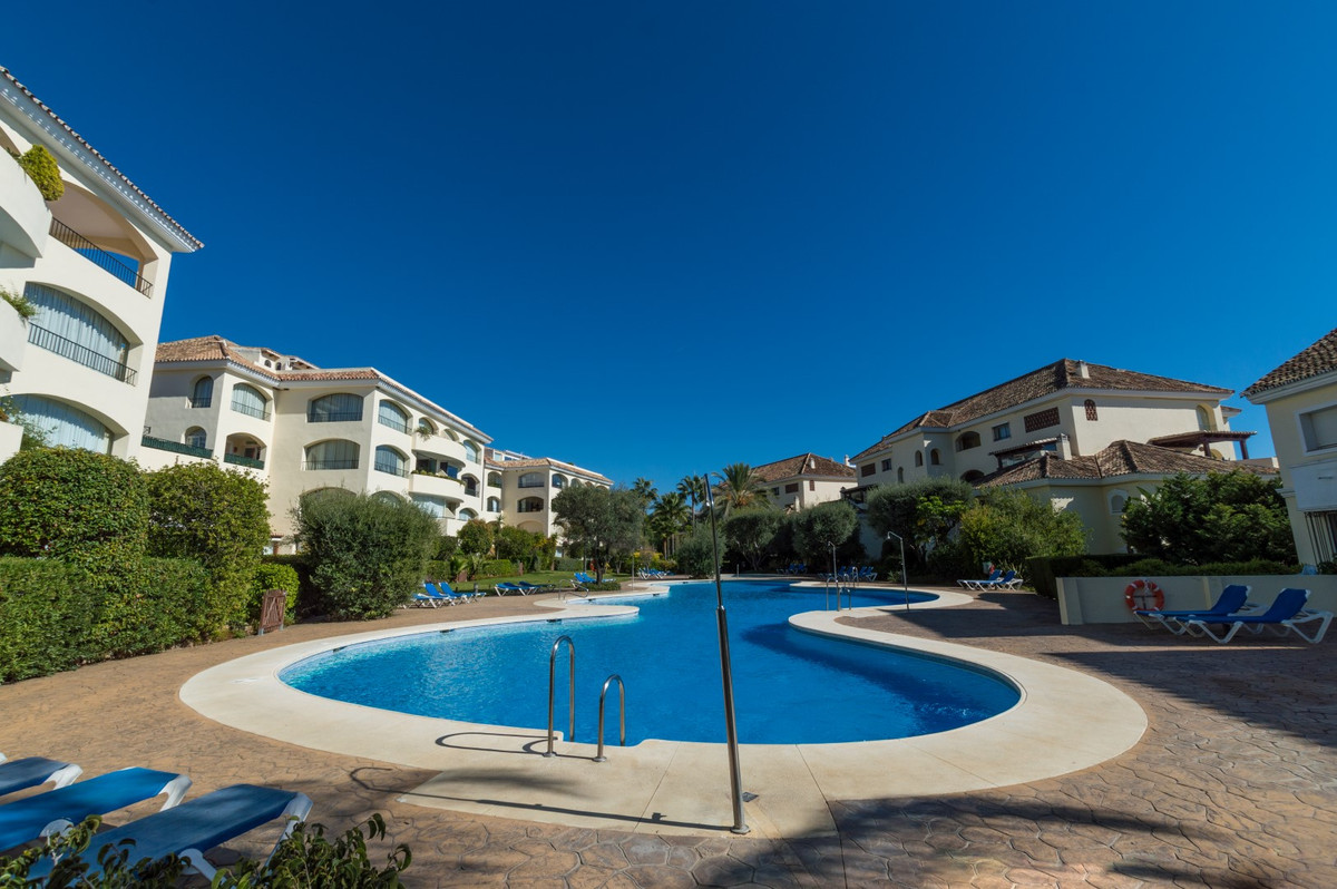 Very spacious ground floor apartment in one of the best-built developments in BAHIA DE MARBELLA. The,Spain