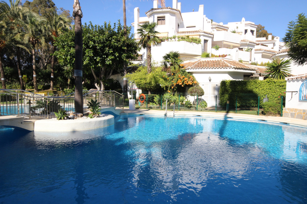 Set in one of the front blocks at the well known Golden Beach at Elviria with its unique location su, Spain