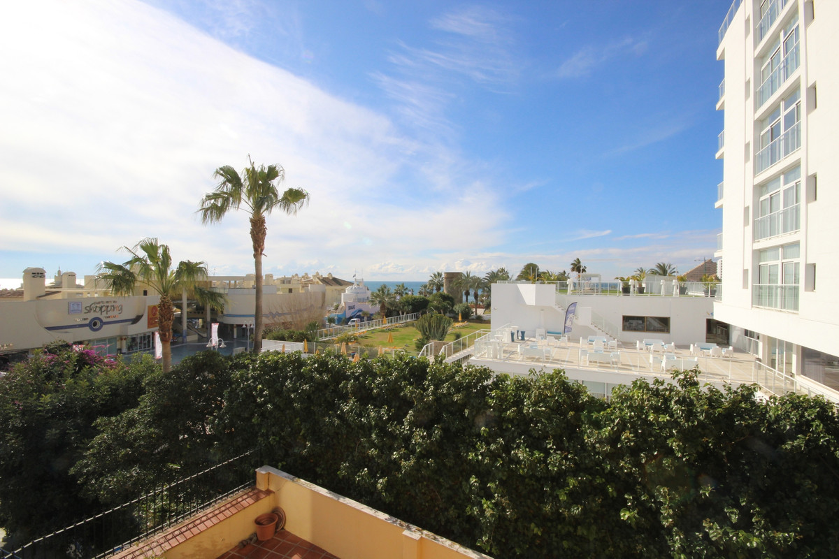 Sea views and located just 20m from Puerto Marina this cozy apartment comprises two bedrooms and a b,Spain