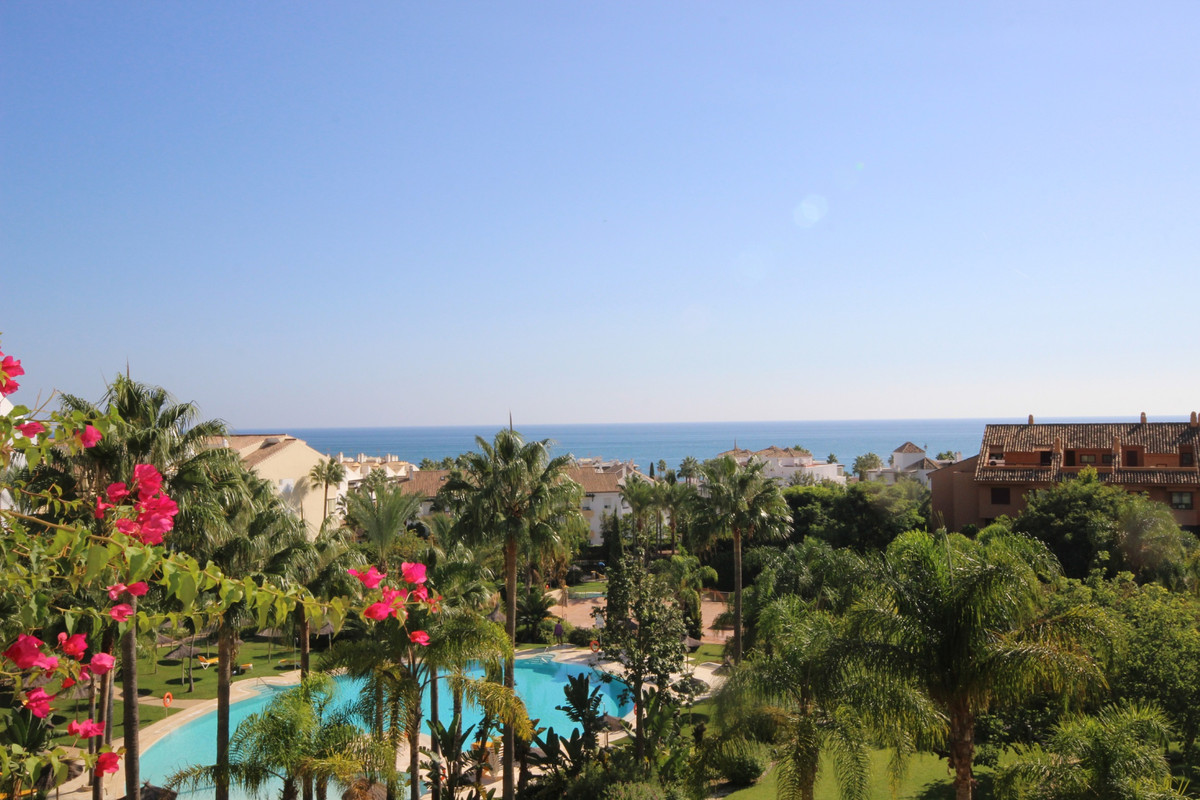 Great sea views!! Three Bedroom excellent presented middle floor apartment located in a sought after,Spain