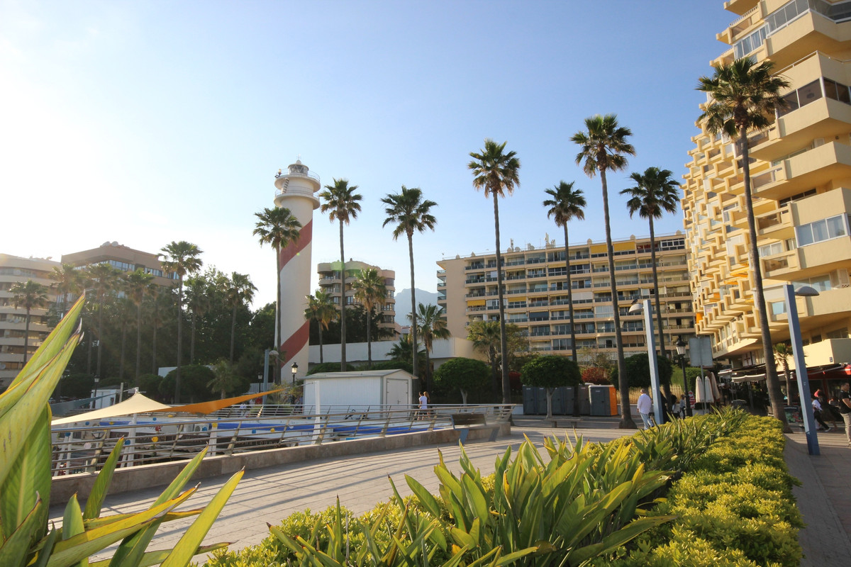 Marbella Promenade. Recently refurbished apartment right in the middle of town, next to El Puerto, A,Spain