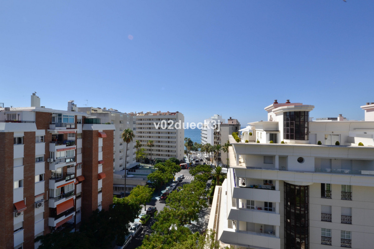 Nice apartment with a large terrace with morning sun and partial sea views in Marbella city. Very go, Spain