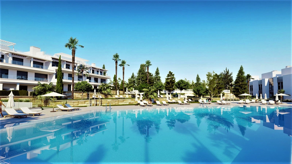Contemporary first floor south facing 3 bed apartment for sale in the brand new development Le Mirag,Spain