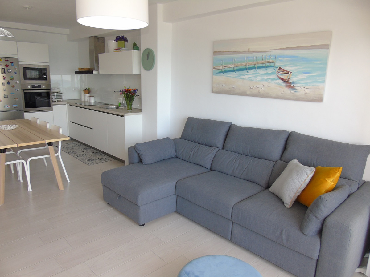First line beach apartment newly renovated, with 3 bedrooms and 2 bathrooms , open and fully equippe, Spain