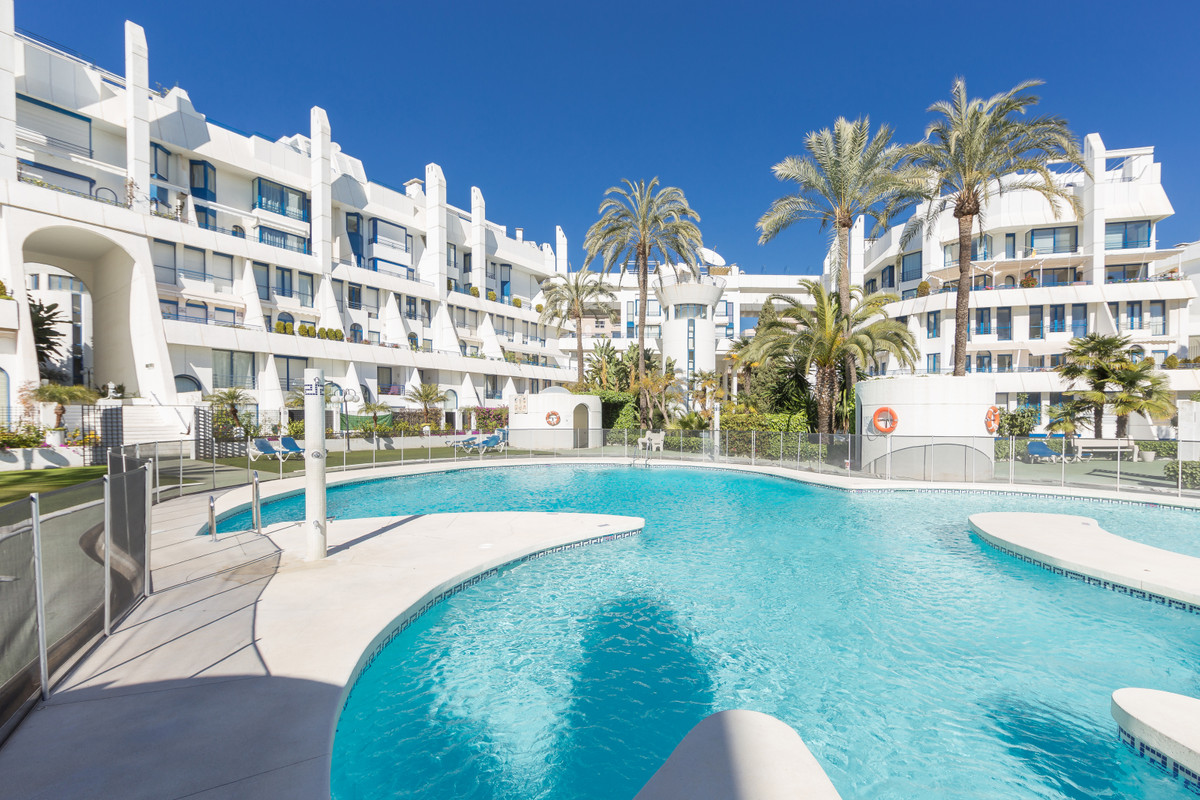 An expansive and airy duplex apartment which is centrally located for the chic Marbella lifestyle, a,Spain