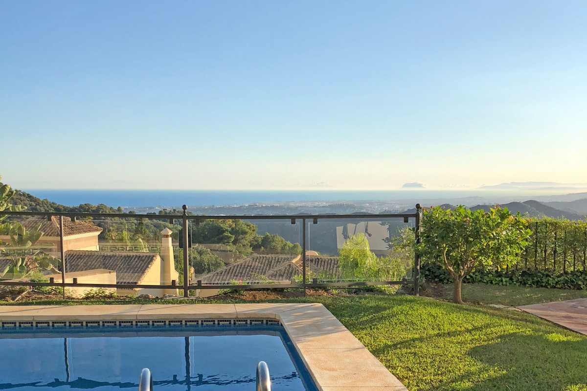 PANORAMIC SEA VIEWS • MARBELLA GREEN MILE • This beautifully furnished and decorated three bedroom v, Spain