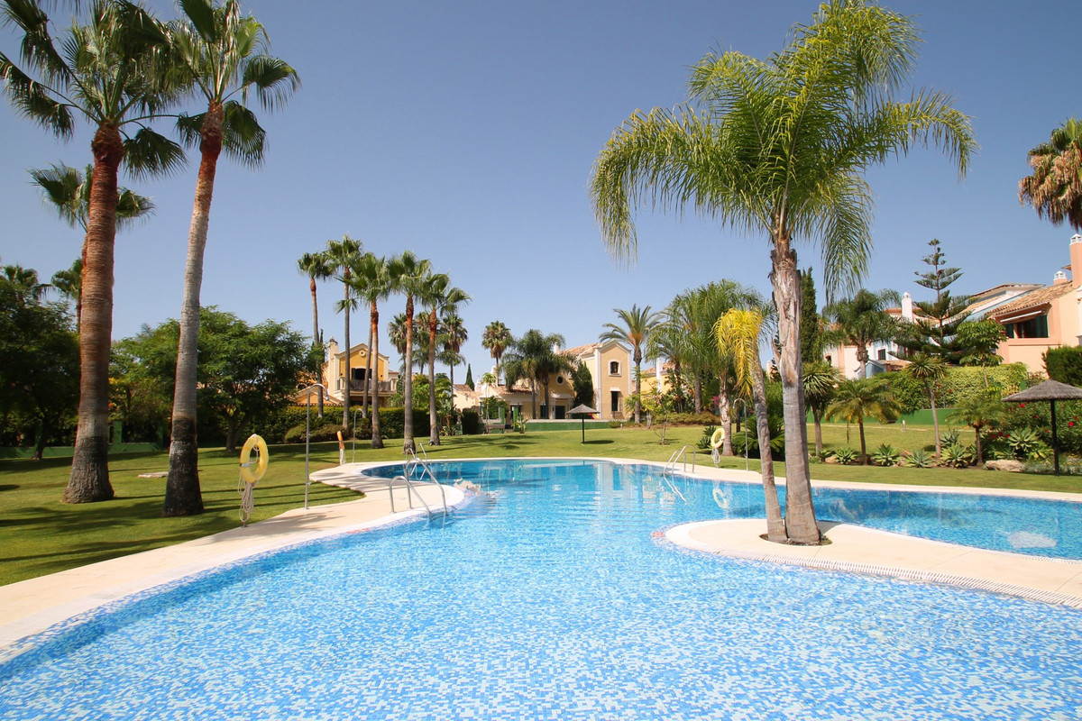 GOLF PROPERTY • MARBELLA WEST • REFURBISHED • South facing four bedroom townhouse located in the ple,Spain