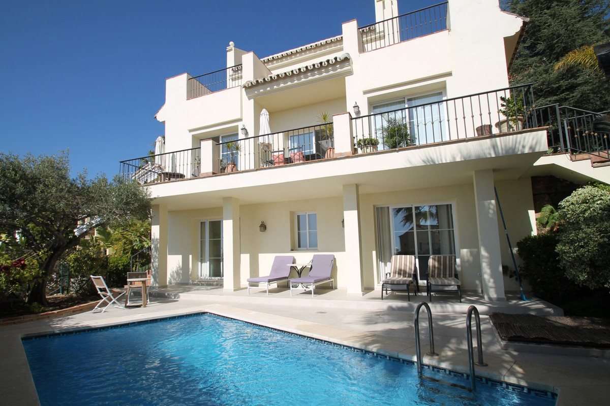 SEA & LAKE VIEWS · MARBELLA GREEN MILE · Beautiful South-West facing villa in a countryside urba, Spain