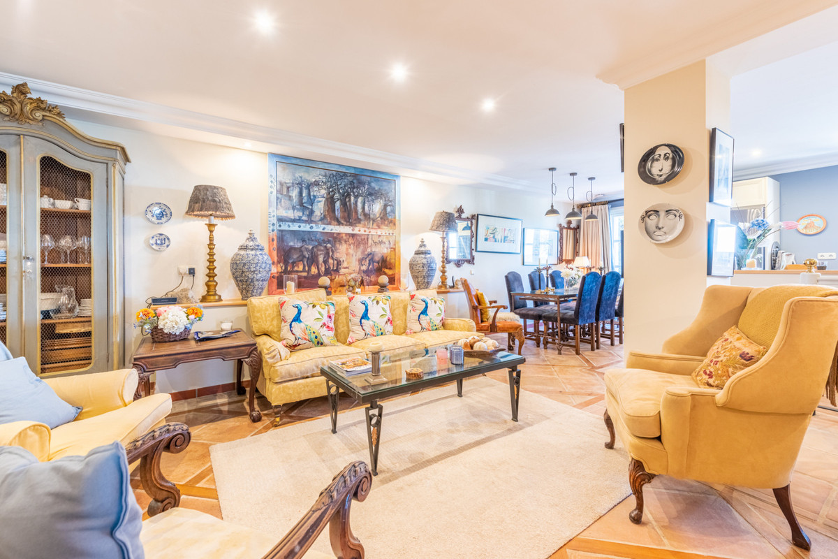 SEA VIEWS • IMMACULATE • LA HEREDIA • MARBELLA WEST • SOUTH FACING • Andalusian village style duplex,Spain