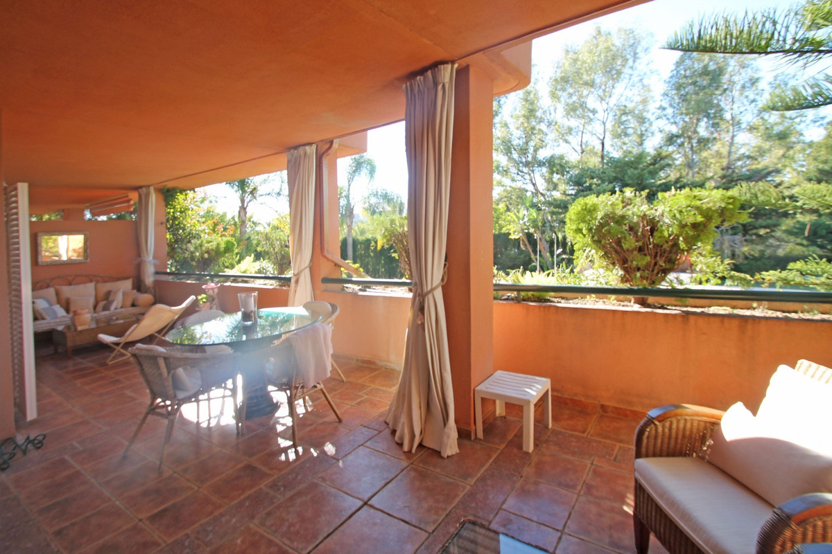 300m FROM THE BEACH · South-West facing three bedroom elevated ground floor on Marbella's Golde,Spain