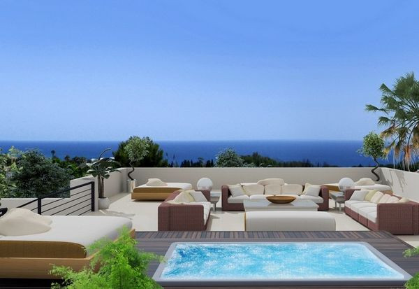 Brand new contemporary south facing villa within a luxury gated community of independent villas, loc,Spain