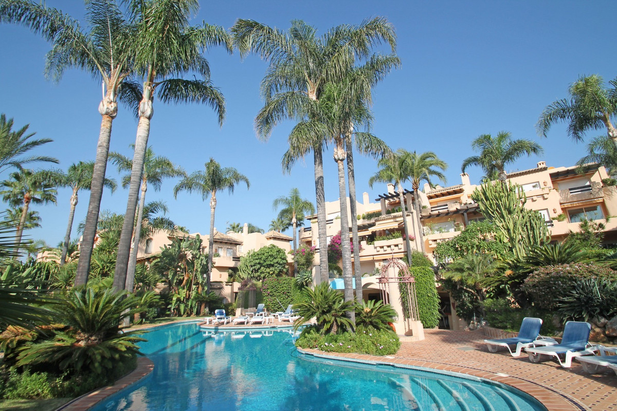 PRIME LOCATION · South facing three bedroom ground floor apartment on a corner located within one of,Spain